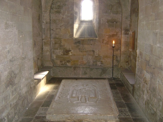 Tomb crypt medieval.