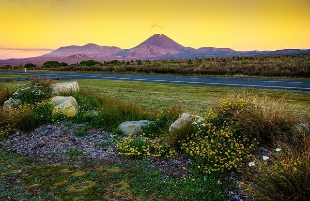 Tongariro volcano lord who rings.