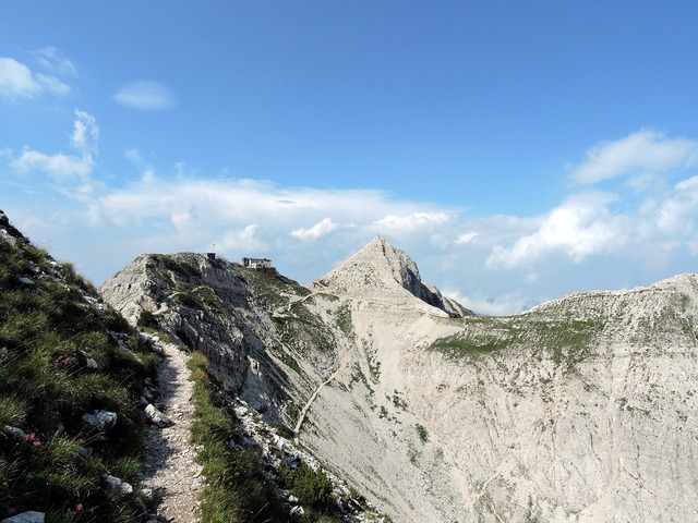 Top mountain dolomites, nature landscapes.