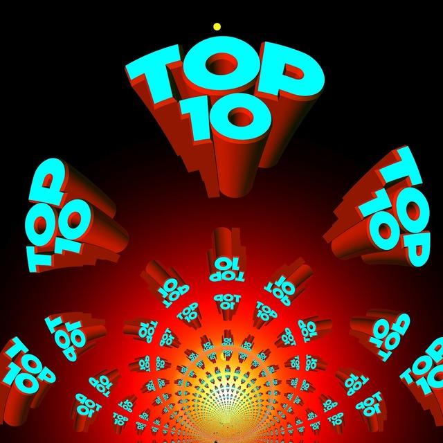 Top top ten best, music.