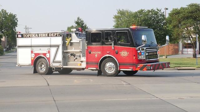 Topeka fire department, transportation traffic.