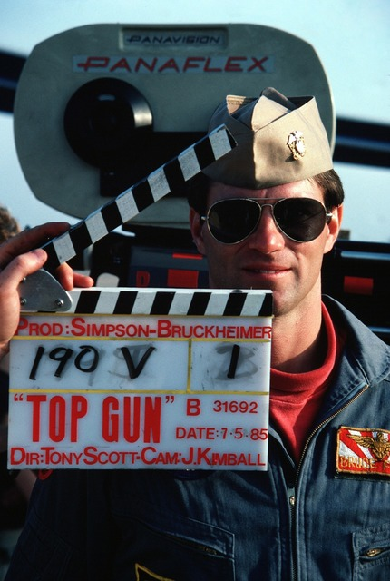 Topgun movie filming.