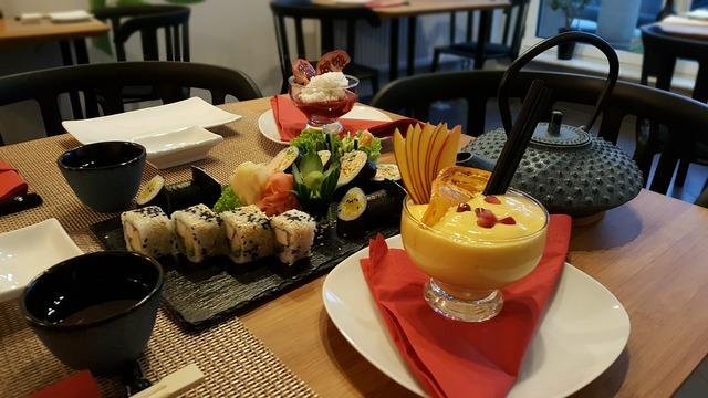 Torii sushi valentine's day.