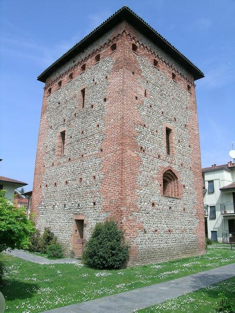 Torre castle medieval tower.
