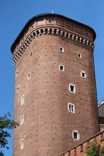 Torre krakow poland, travel vacation.