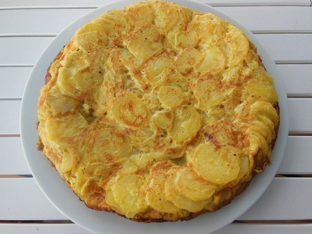 Tortilla spain potato.