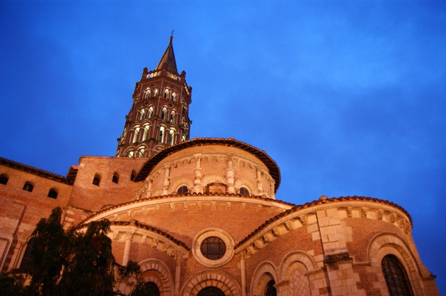 Toulouse france the cathedral, travel vacation.
