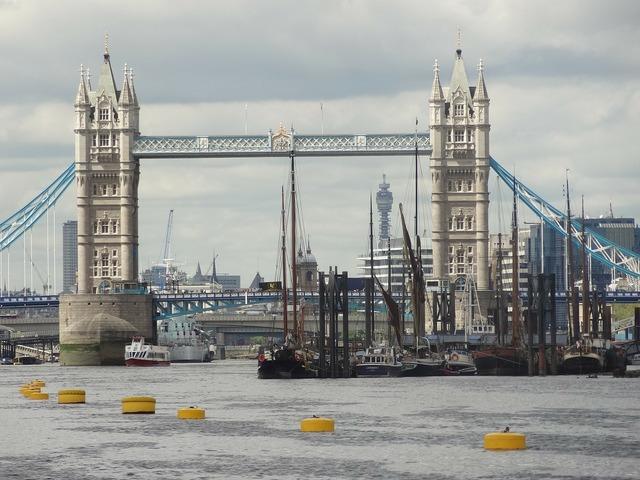Tower bridge tower of london london.