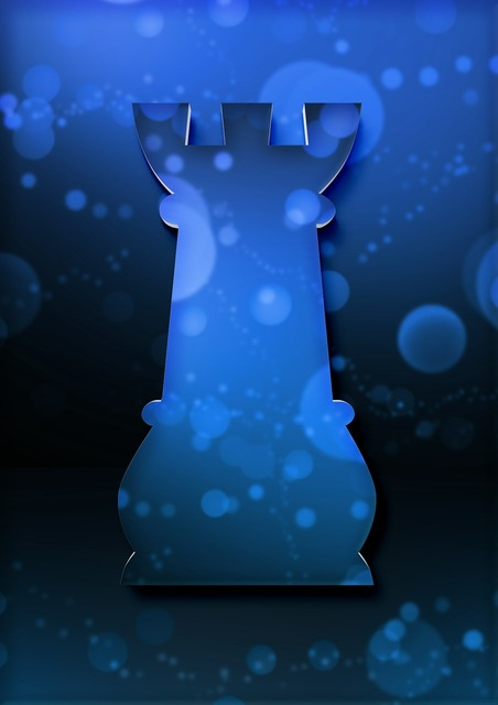 Tower chess chess piece.