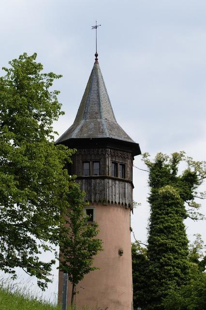 Tower mainau island mainau, architecture buildings.