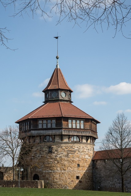 Tower middle ages esslingen.