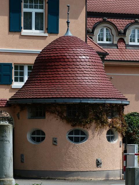 Tower rotunda achitecture.