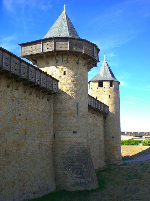 Tower watchtower wall.