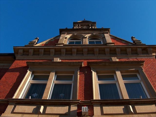 Town hall hockenheim building, architecture buildings.