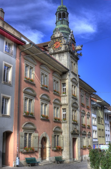 Town hall lenzburg switzerland, architecture buildings.