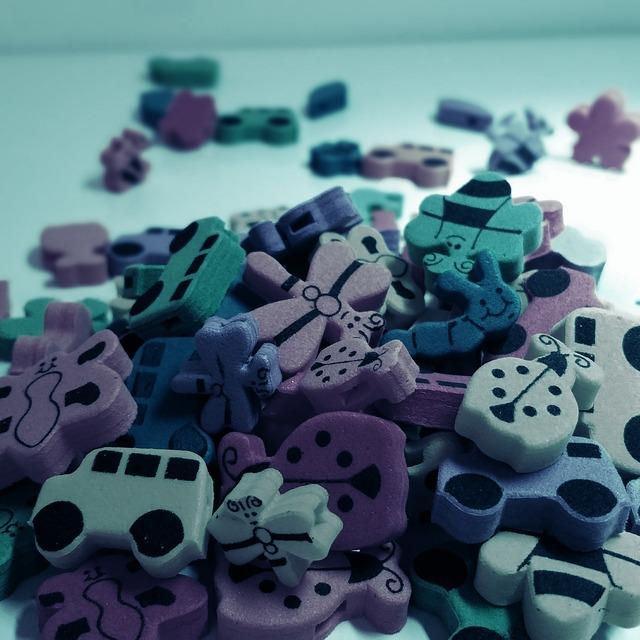 Toys moosgummi children, backgrounds textures.
