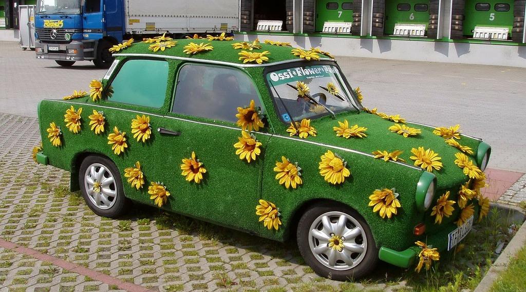 Trabi wartburg castle auto.