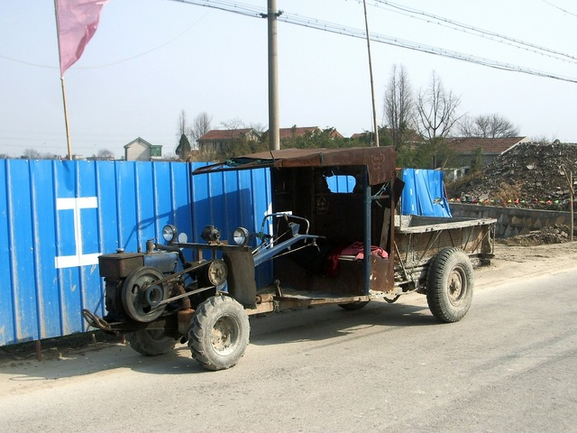Tractor vehicle farm, transportation traffic.