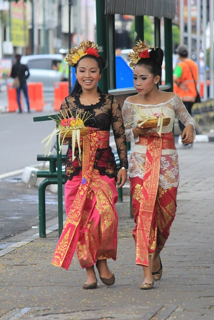 Traditional clothes style people, people.