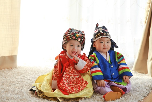 Traditional clothing baby.