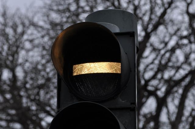 Traffic light bus signal, transportation traffic.