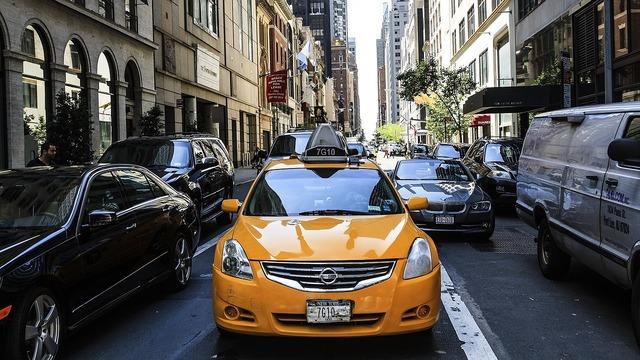 Traffic manhattan new york, transportation traffic.