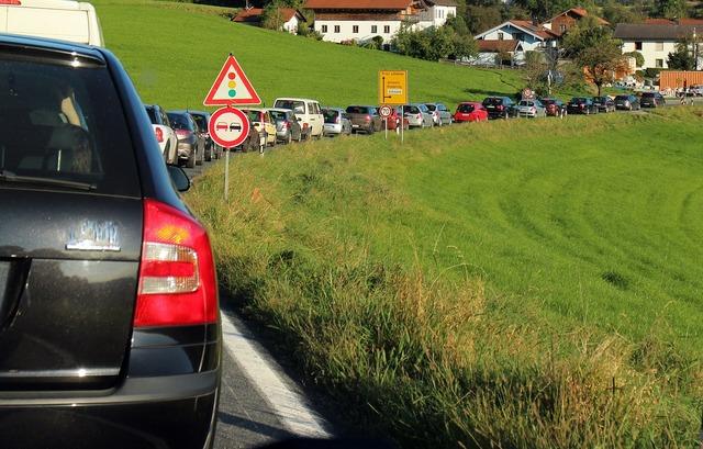 Traffic traffic lights jam, transportation traffic.