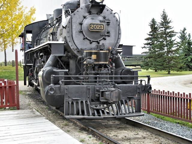 Train old train engine heritage.