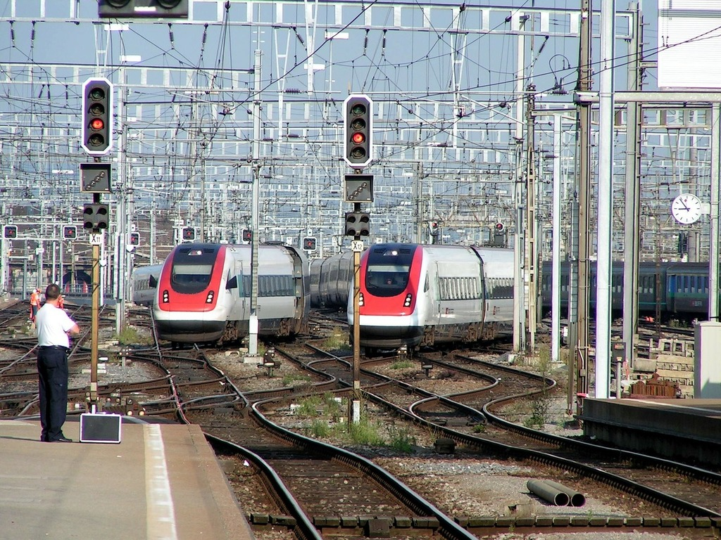Train railway zurich, travel vacation.