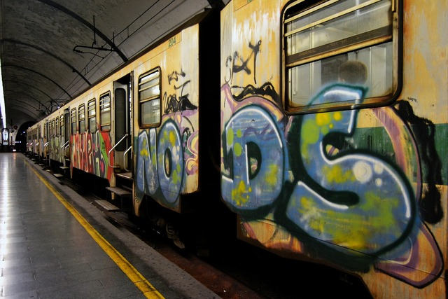 Train rome wagon.