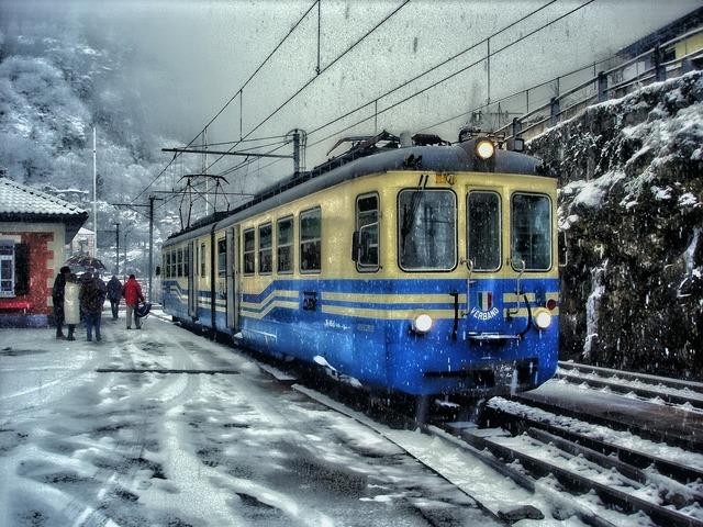 Train shine bus tram.