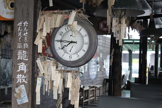 Train station clock, travel vacation.