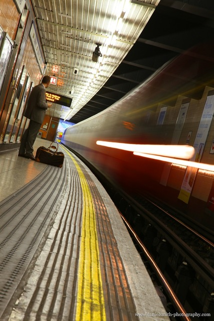 Train underground platform, travel vacation.