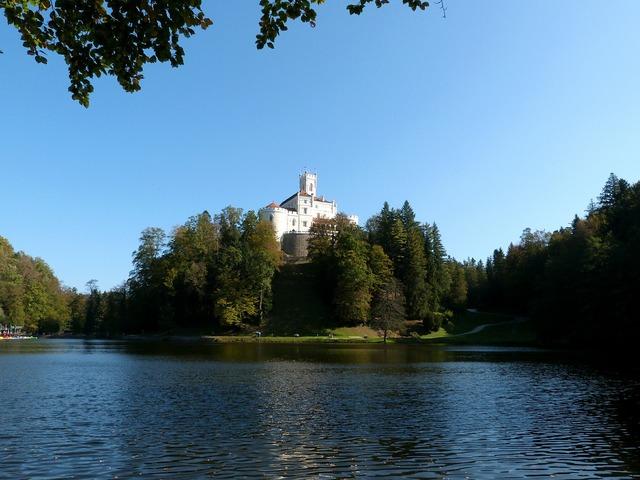 Trakoscan medieval castle.