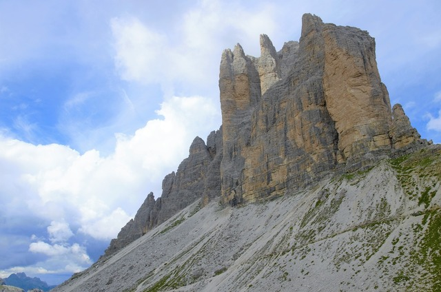 Tre cime di lavaredo the alps italy.
