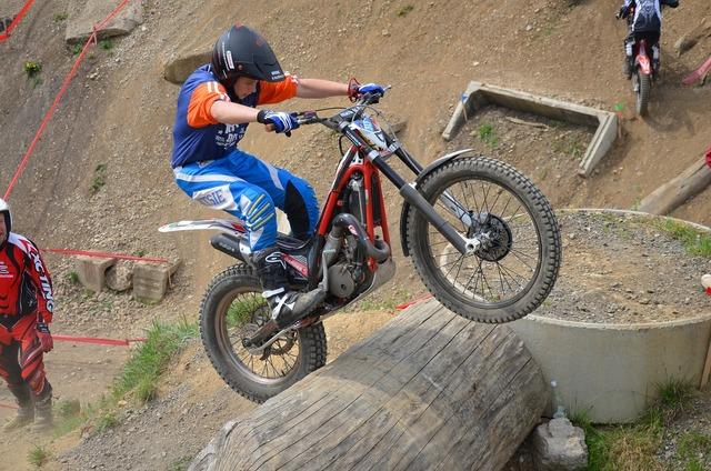 Trial sport trial bike, sports.