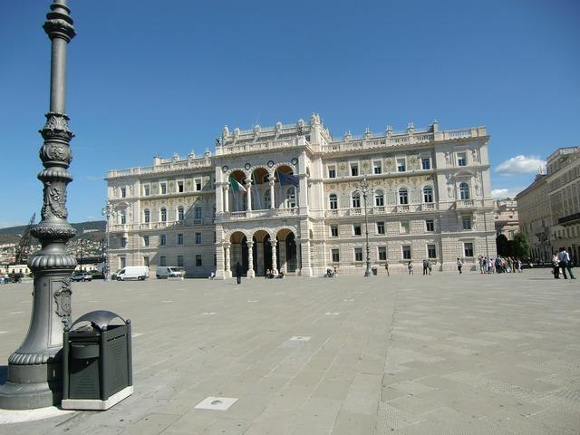 Trieste italy port.
