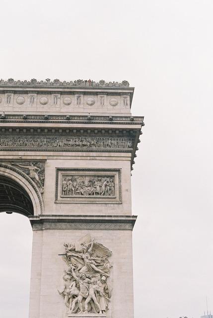 Triumphal arc monument memorial, architecture buildings.