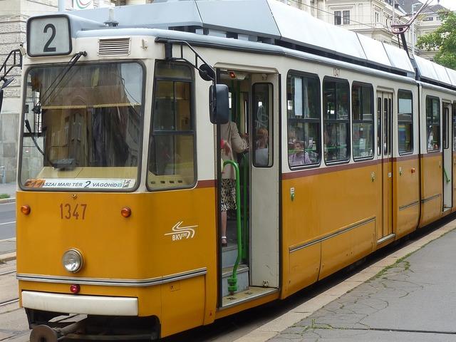 Trolley transit europe.