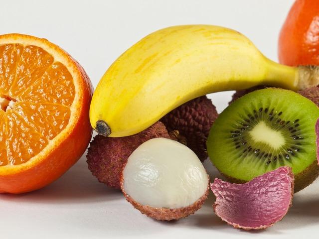 Tropics fruits tangerines, food drink.
