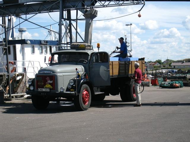 Truck old people, transportation traffic.