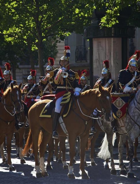 Trumpet fanfare staff captain cavalry.