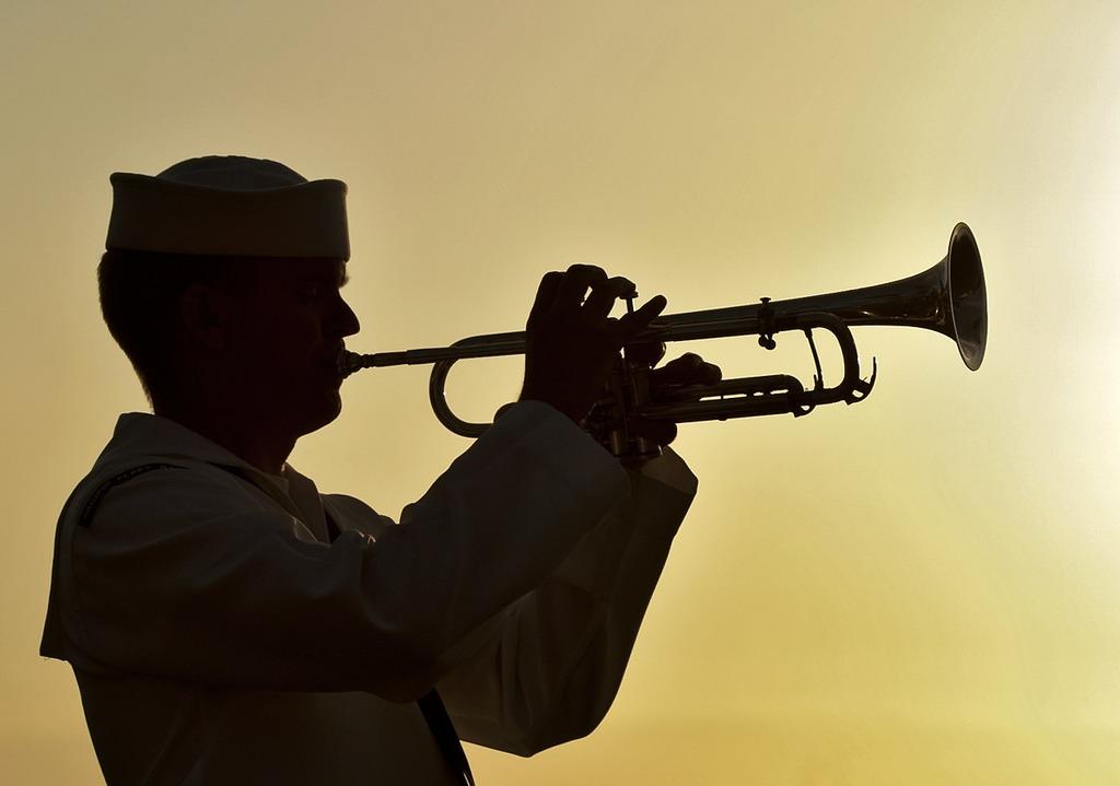 Trumpeter sailor military.