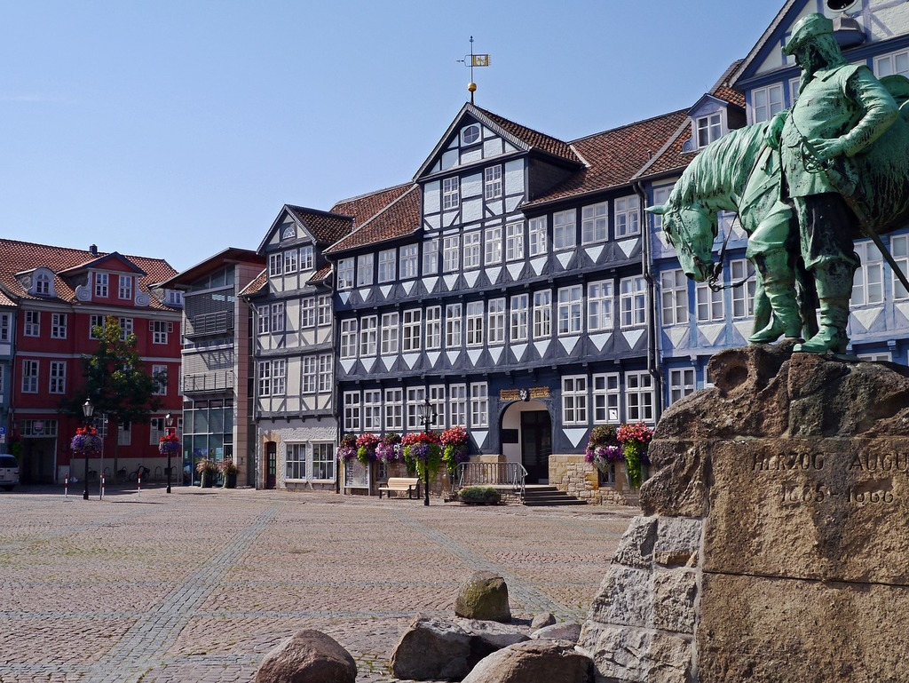 Truss historically marketplace, architecture buildings.