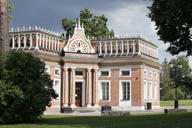 Tsaritsyno park castle park, travel vacation.