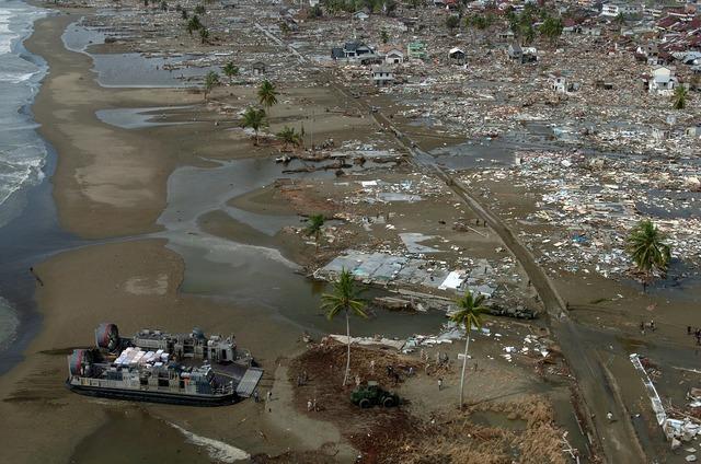 Tsunami riptide natural disaster.