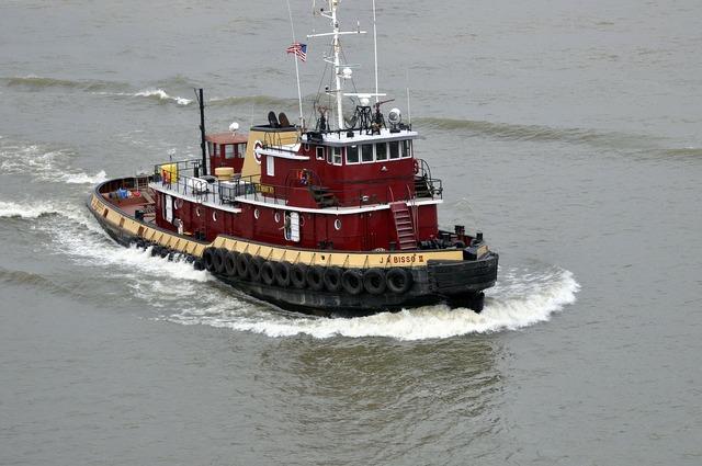 Tug boat river.