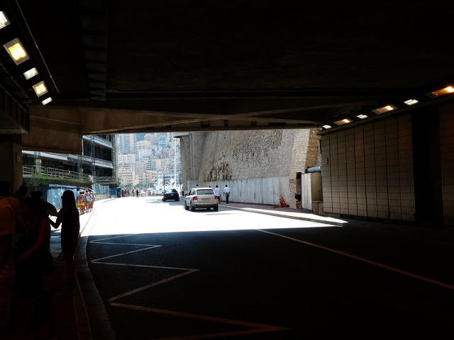 Tunnel monaco race track.