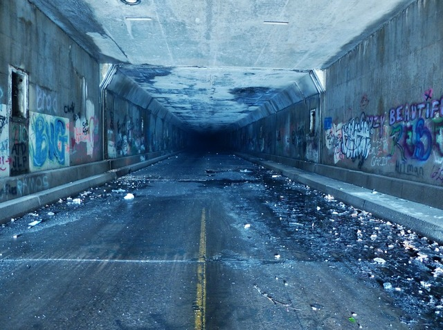 Tunnel pa turnpike turnpike, transportation traffic.