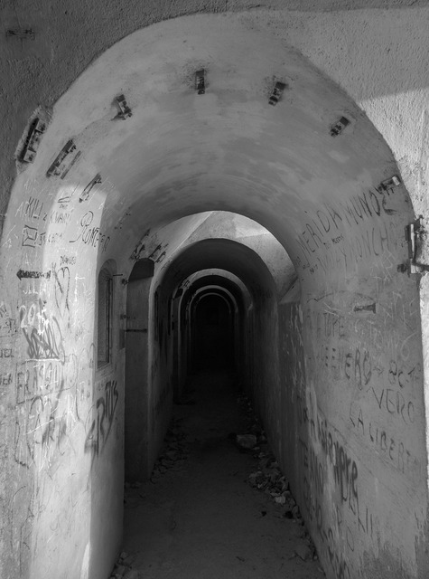 Tunnels cartagena murcia, places monuments.